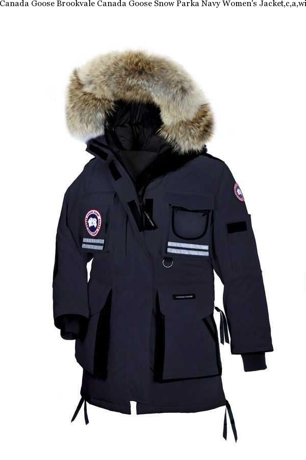 Canada Goose Brookvale Canada Goose Snow Parka Navy Women  s Jacket ... 55383948be