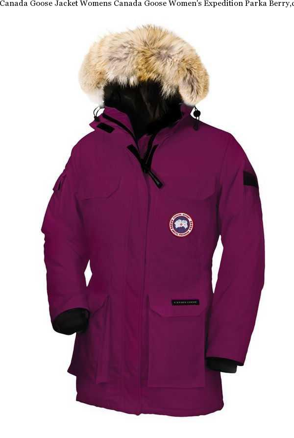 fc03094a4a8f Canada Goose Jacket Womens Canada Goose Women s Expedition Parka Berry