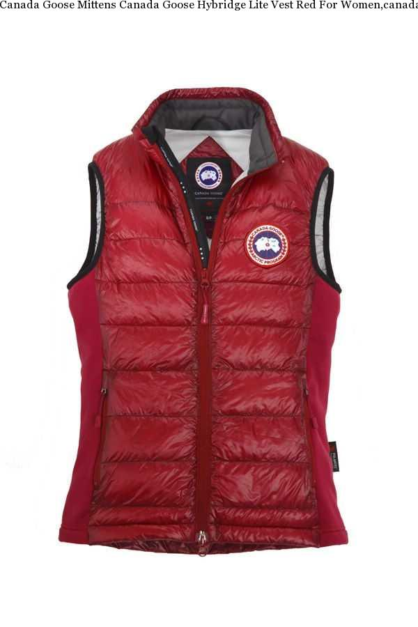 Canada Goose HyBridge Red Jacket
