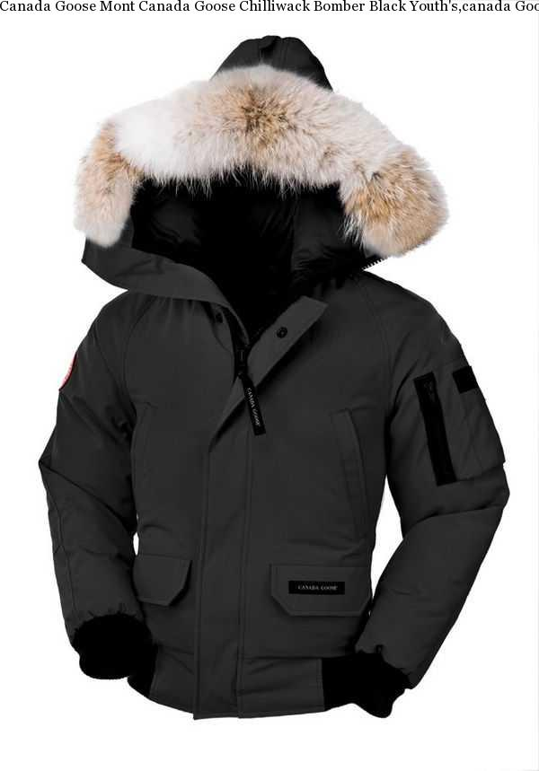 74276989e51 Canada Goose Mont Canada Goose Chilliwack Bomber Black Youth's,canada Goose  Chilliwack Bomber Size Chart