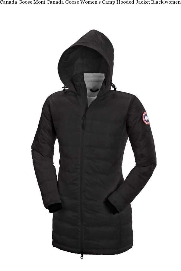 53eb1e7956f Canada Goose Mont Canada Goose Women's Camp Hooded Jacket Black,women's  Canada Goose Camp Hooded
