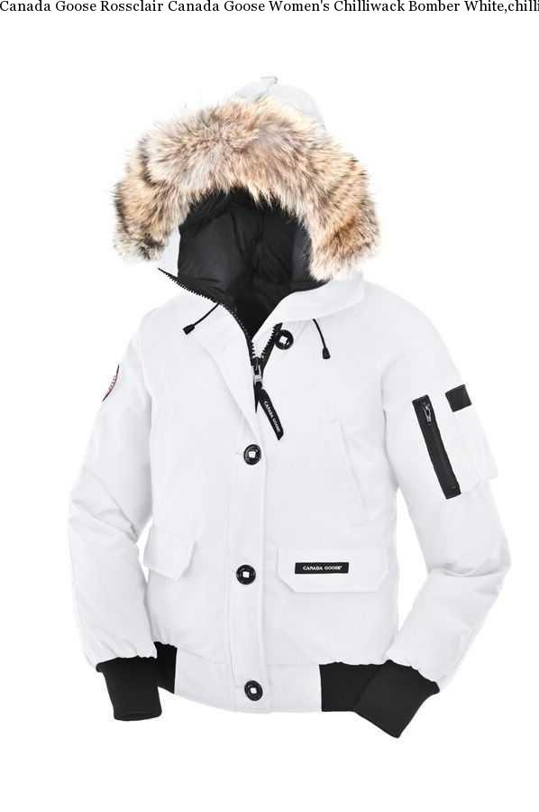 01016b3a8a3 Canada Goose Rossclair Canada Goose Women's Chilliwack Bomber White,chilliwack  Bomber Canada Goose Uk,