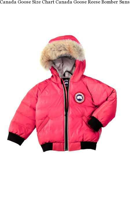67e570a876a Canada Goose Size Chart Canada Goose Reese Bomber Sunset Pink Baby's,canada  Goose Coats,