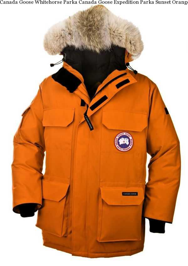 483569d2e4f5 Canada Goose Whitehorse Parka Canada Goose Expedition Parka Sunset Orange  Men s
