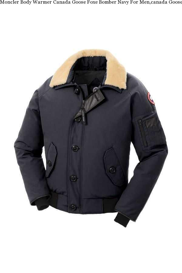 22bf8669ca8f Moncler Body Warmer Canada Goose Foxe-Bomber-Navy For Men