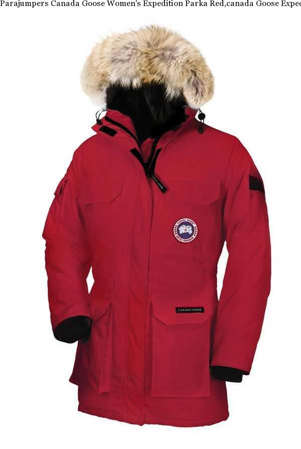 Canada Goose Expedition Parka Red Women