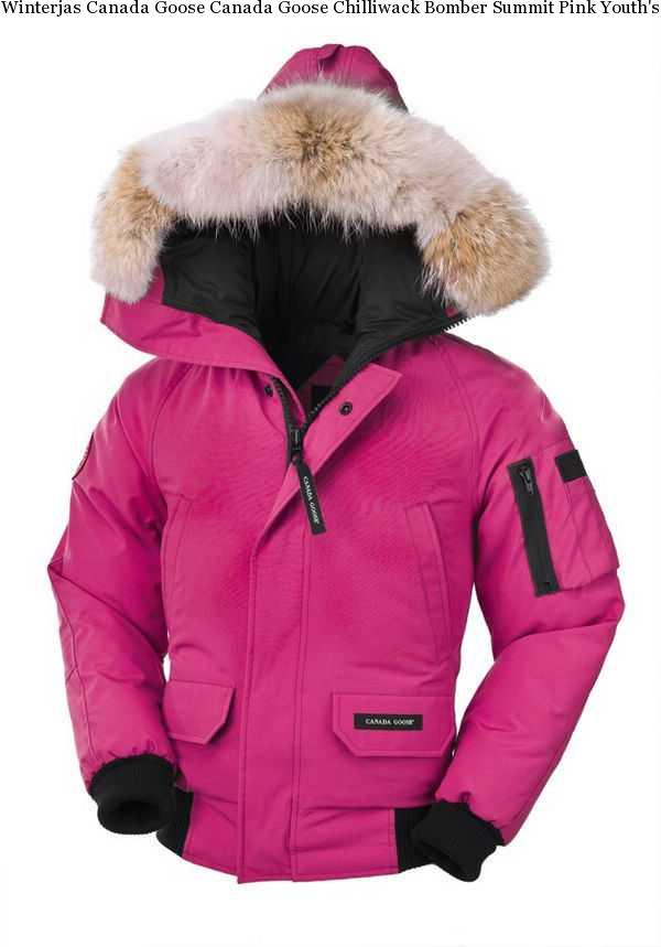 595abe0e80e0 Winterjas Canada Goose Canada Goose Chilliwack Bomber Summit Pink Youth s